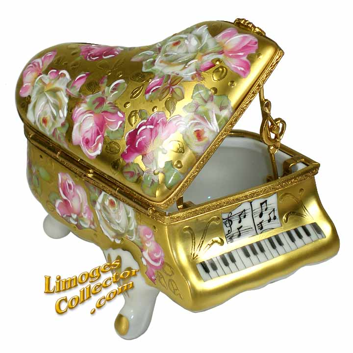 Piano Limoges box by Beauchamp | LimogesCollector.com