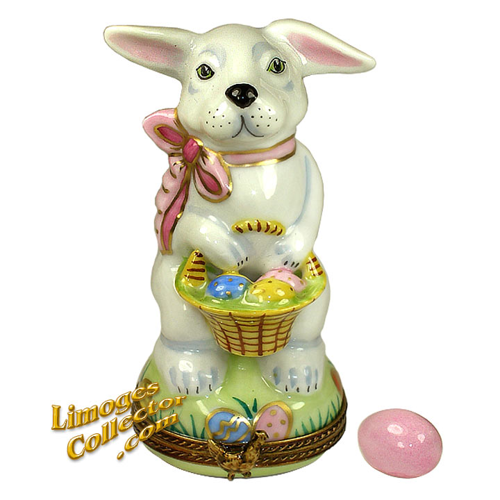 Easter Bunny Limoges box by Beauchamp Limoges | LimogesCollector.com