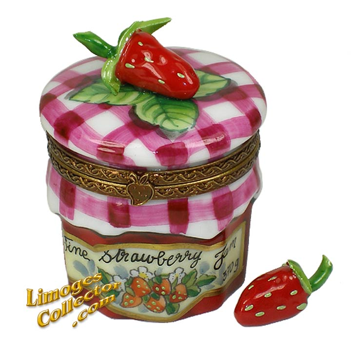Strawberry Jam Limoges Box by Beauchamp | LimogesCollector.com