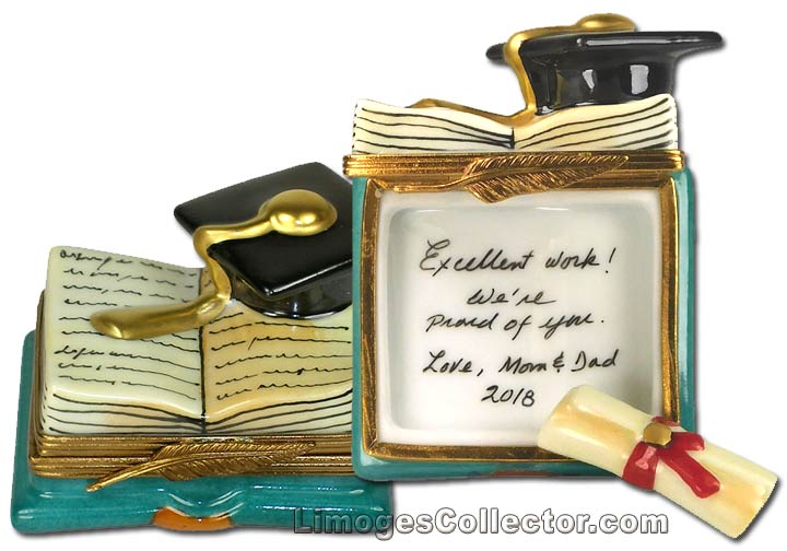 Personalized Graduation Gift Limoges Box | LimogesCollector.com