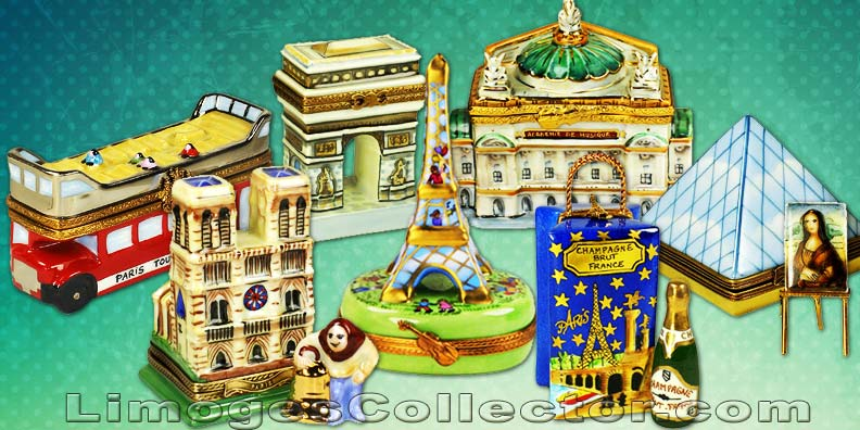 Collect Limoges Boxes by Themes such as Travel Limoges Boxes | LimogesCollector.com