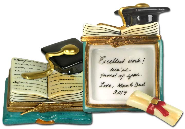 Personalized Graduation Gifts Limoges Boxes | LimogesCollector.com