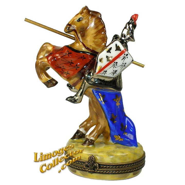 Knight In Shining Armor Limoges Box | Limogescollector.com