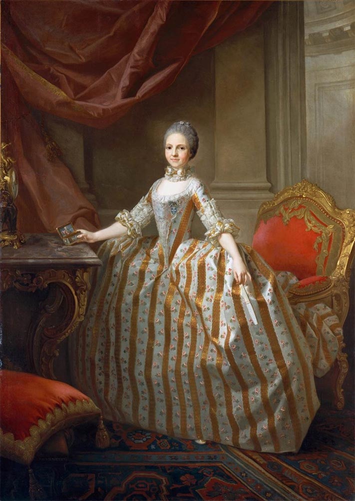 Portrait of Maria Louisa of Parma