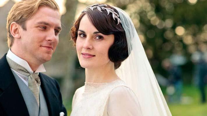 Wedding of Lady Mary Crawly to Matthew Crawley