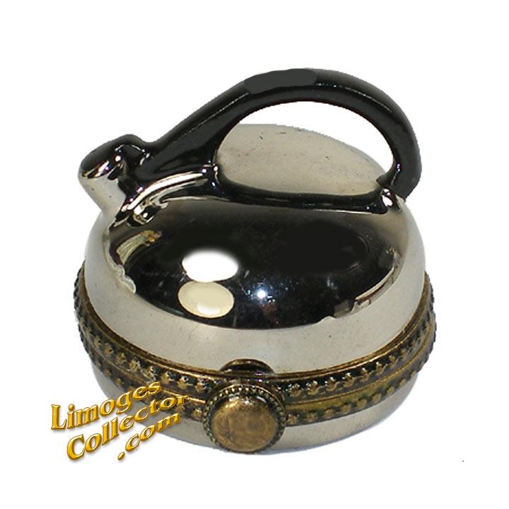 Whistling Tea Kettle Limoges Box | LimogesCollector.com
