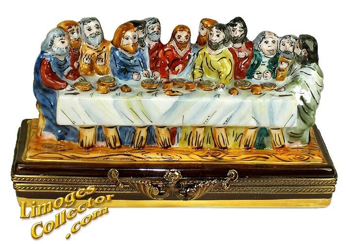 Last Supper Limoges Box   LimogesCollector.com