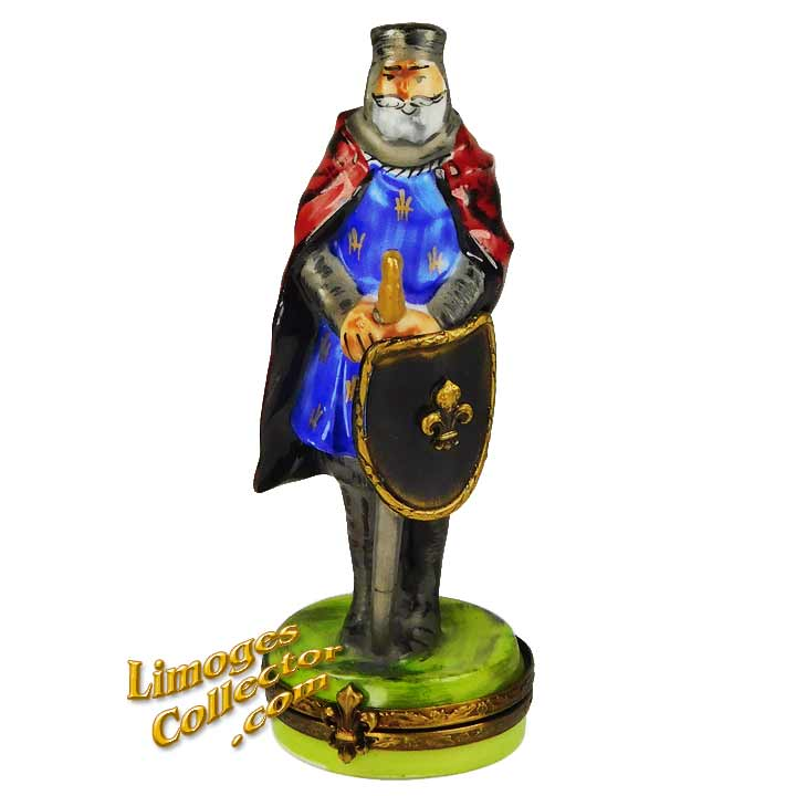 Knight Limoges Box   LimogesCollector.com