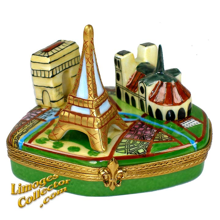 Paris Landmarks Collection Limoges box by Beauchamp | LimogesCollector.com