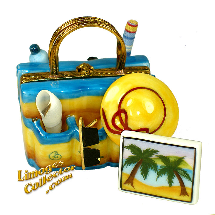 Beach Bag with all the Essentials Mother's Day Limoges box | LimogesCollector.com
