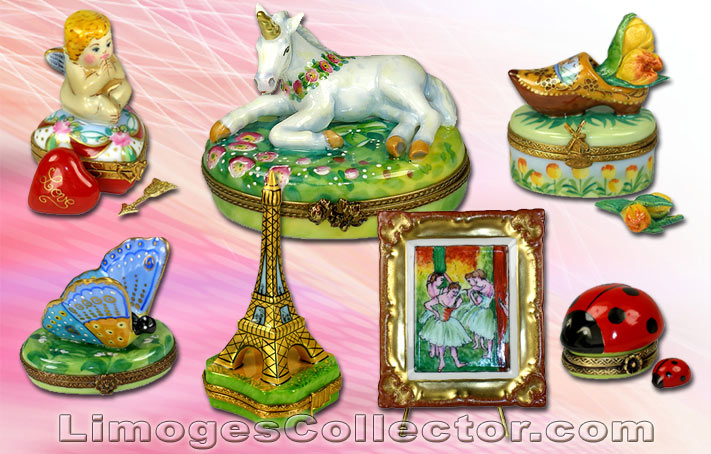 Beauchamp Limoges offers a vast variety of unique and exceptional Limoges boxes | LimogesCollector.com