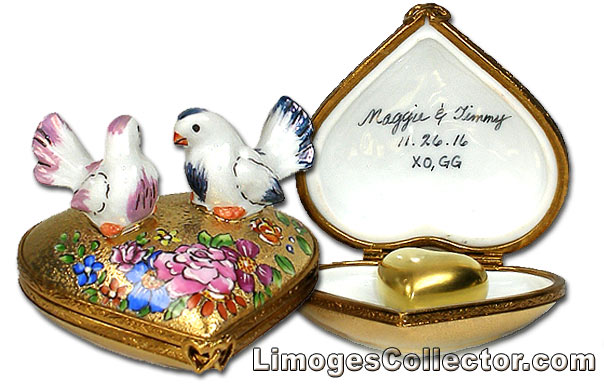 Personalized Wedding Limoges Boxes at LimogesCollector.com