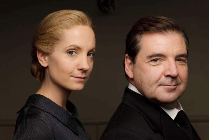 Anna and Bates, staff at Downton Abbey