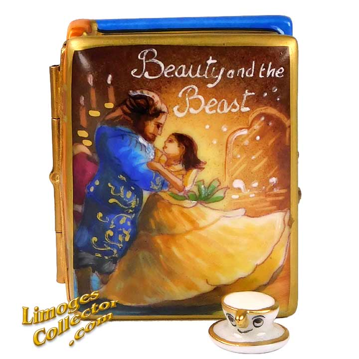 Beauty and the Beast, an Exclusive Limoges box by Beauchamp | LimogesCollector.com