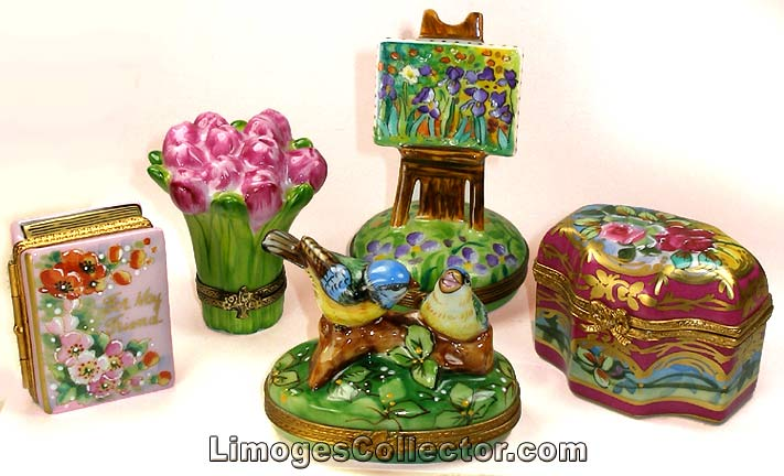 Expertly Hand-Painted Limoges Boxes from LimogesCollector.com