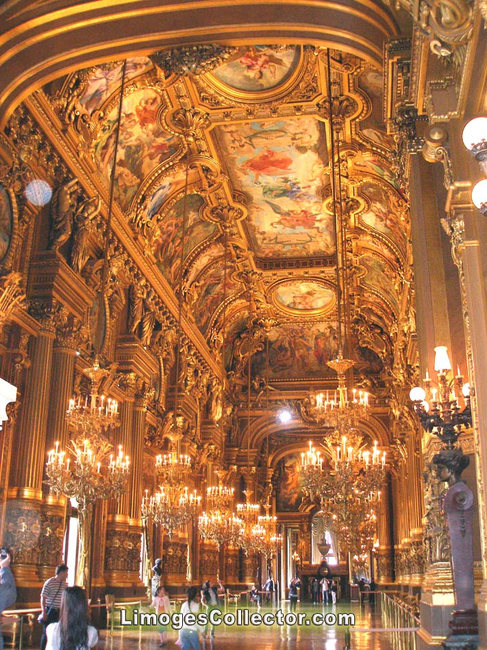 Interior of the Paris Opera | LimogesCollector.com