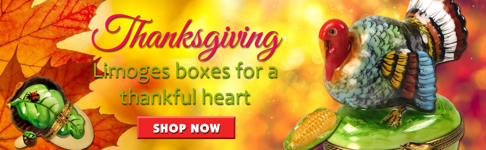 Shop Thanksgiving Limoges boxes