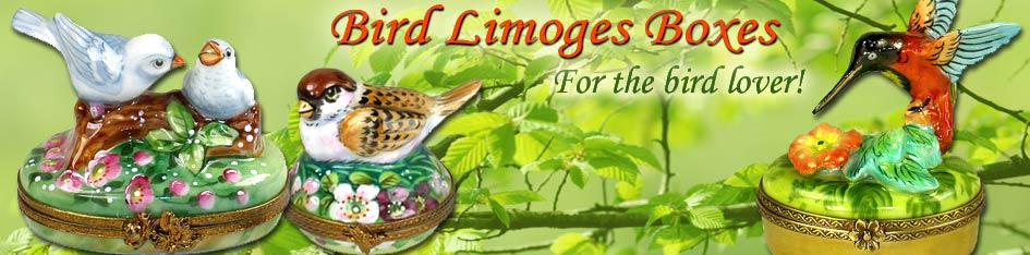 Bird Limoges Boxes