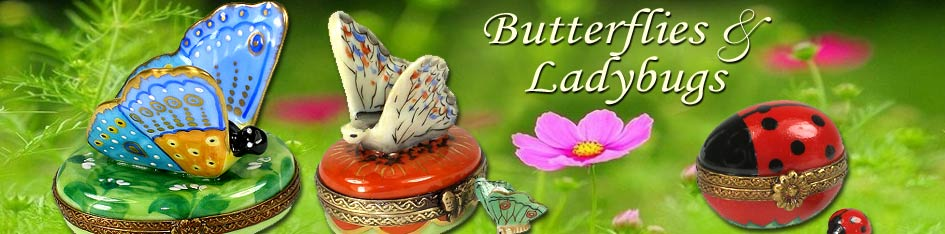 Butterfly Limoges Boxes
