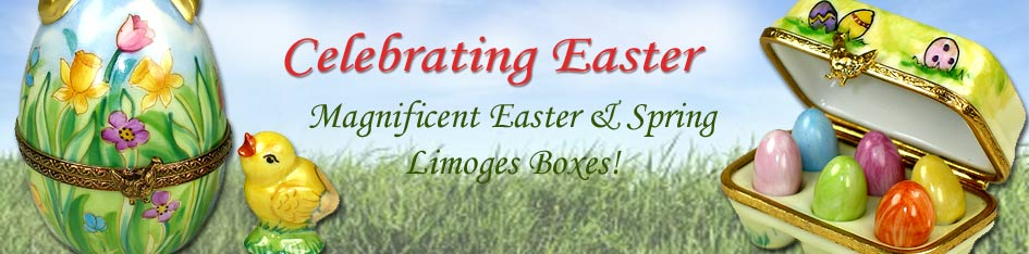 Easter and Spring Limoges Boxes