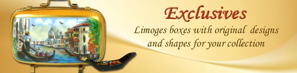 Exclusive Limoges Boxes by Beauchamp Limoges