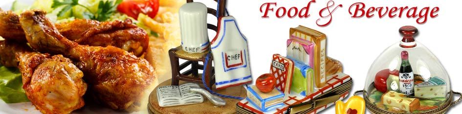 Food and Beverage Limoges Boxes