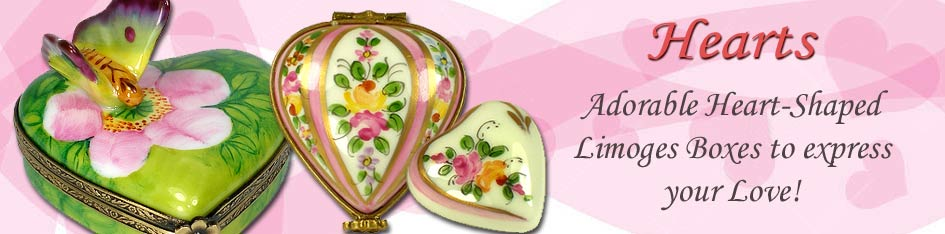 Heart Limoges Boxes