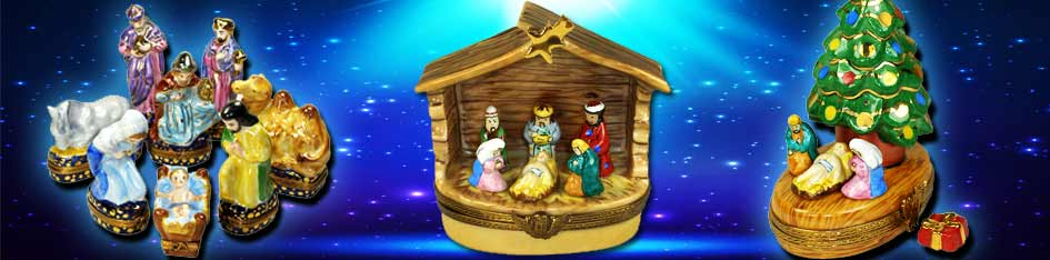Nativity Limoges Boxes