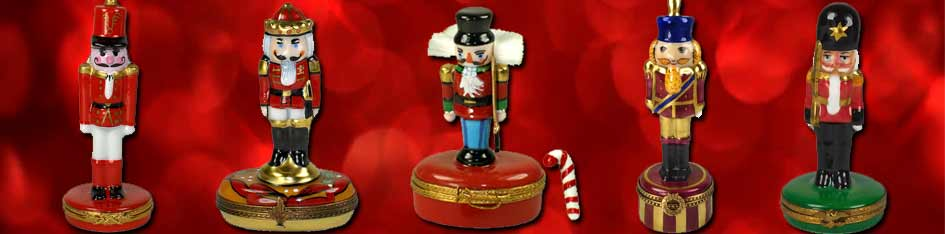 Nutcracker Limoges Boxes