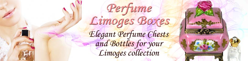 Perfume Chest Limoges Boxes
