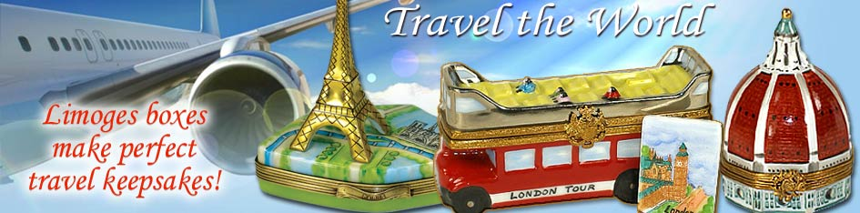 Travel and World Limoges Boxes