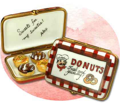 Personalization Example Donut Box