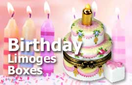 Buy Birthday Limoges boxes at LimogesCollector.com