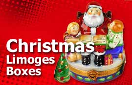 Buy Christmas Limoges boxes at LimogesCollector.com