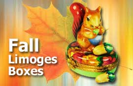 Buy Fall Limoges boxes at LimogesCollector.com