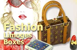 Buy Fashion Limoges boxes at LimogesCollector.com