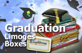 Buy Graduation Limoges boxes at LimogesCollector.com