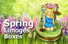 Buy Spring Limoges boxes at LimogesCollector.com