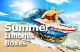 Buy Beach and Summer Limoges boxes at LimogesCollector.com