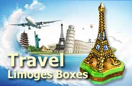 Buy Travel Limoges boxes at LimogesCollector.com