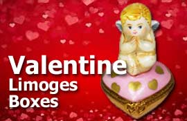 Buy Valentines Limoges boxes at LimogesCollector.com