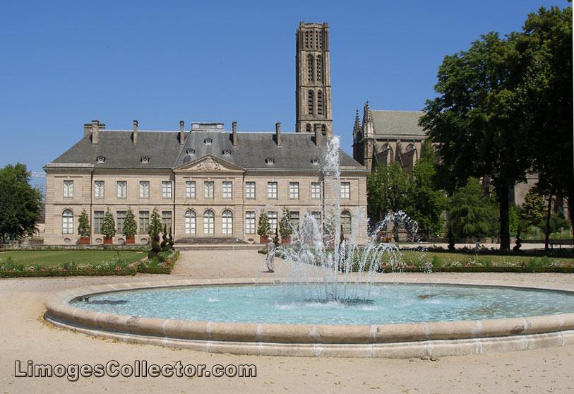 Bishops Palace in Limoges France