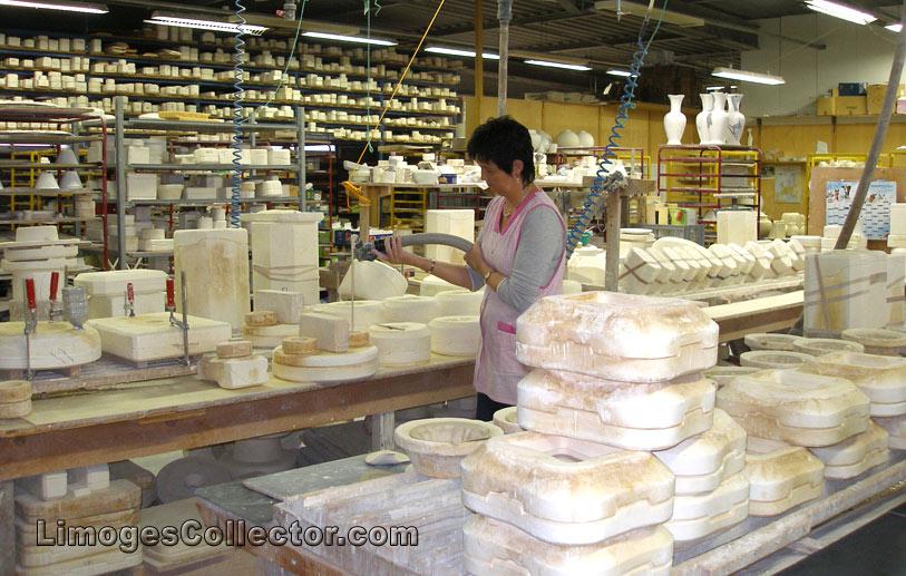 Porcelain Factory in Limoges France