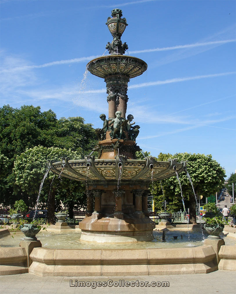 Fountain Limoges France