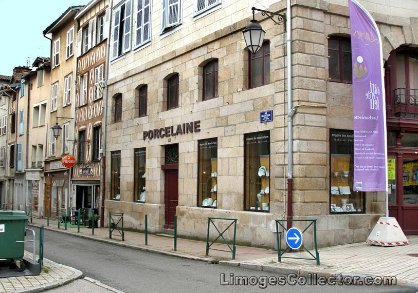 Porcelain Shop in Limoges France