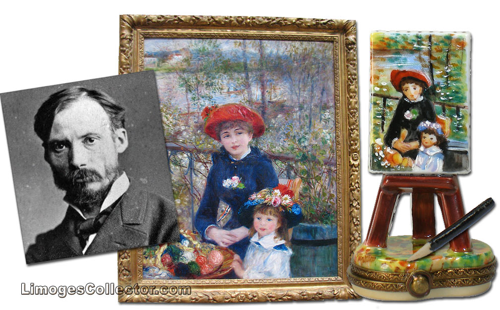 Renoir, an artist from Limoges France