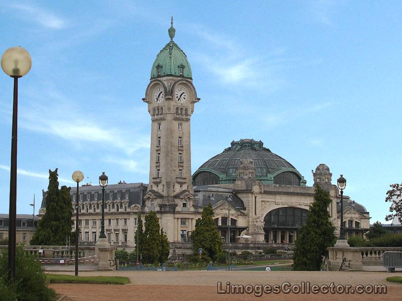 Gare de Limoges-Benedictins Train Station at Limoges France